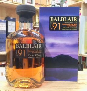 Balblair 27 Years Old (1991/2018)