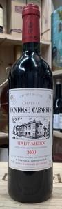 Chateau Pontoise Cabarrus 2000 (Cru Bourgeois)