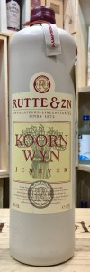 Rutte & Zn Koorn Wyn Jenever Gin