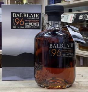 Balblair 22 Years Old Single Cask